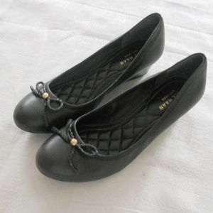 COLE HAAN WOMENS 6.5 WOMENS SHOES BLACK